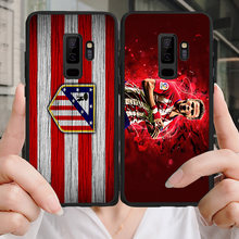 Yinuoda Phone Case For Saul Niguez Galaxy S10 S9 Plus S6 S7 Edge Black Soft TPU DIY Case Atletico Madrid FC For Galaxy Note 7(China)