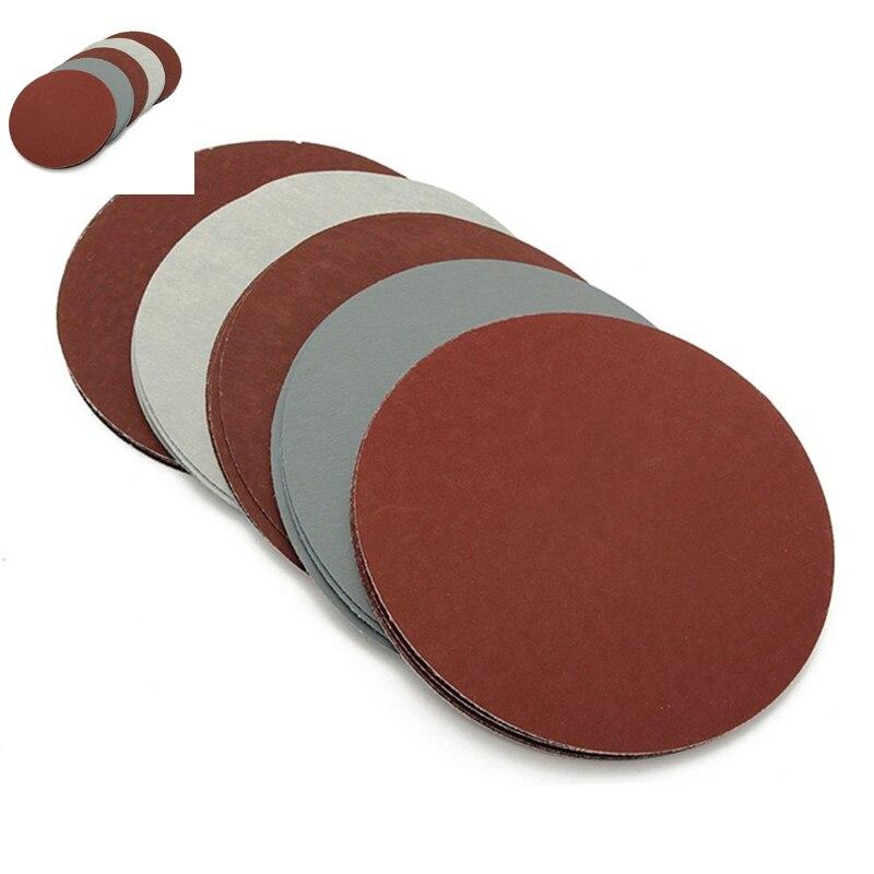 Grit 1000 1500 2000 2500 3000 Sandpapers Tool Hook Loop Derusting Replace 125mm 25pcs Hot Sale