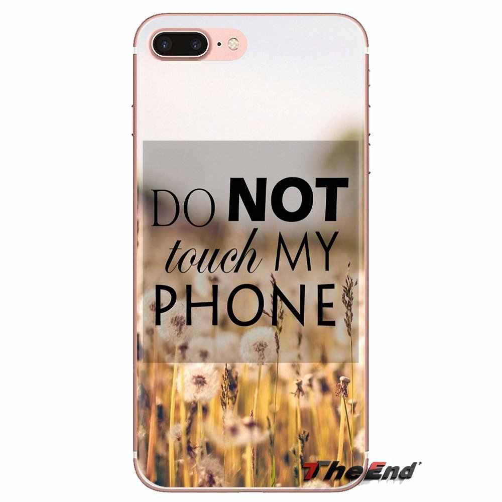 لسامسونج غالاكسي S2 S3 S4 S5 مصغرة S6 S7 حافة S8 s9 plus نوت 2 3 4 5 8 كوكه Fundas حالات لينة قفل الشاشة لا تلمس هاتفي
