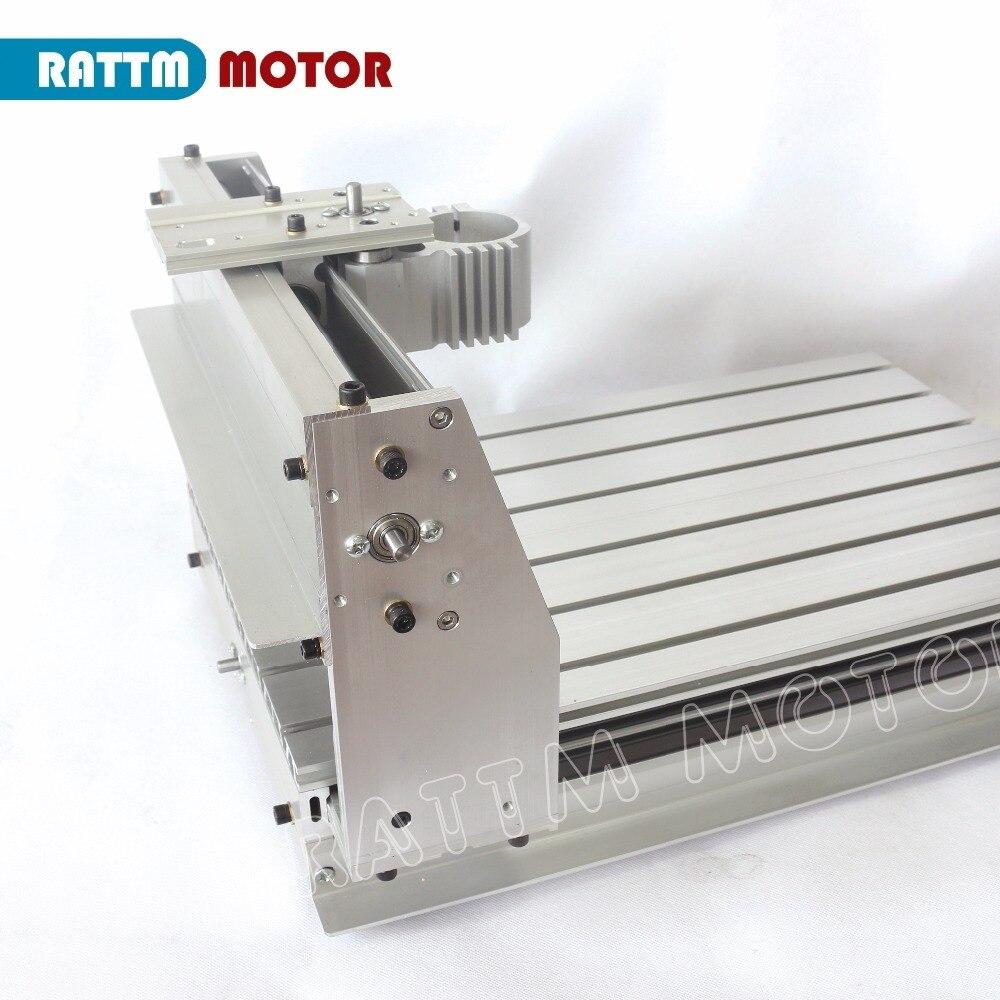 Image 2 - Ferramentas Marcenaria Wood Lathe 3040 Cnc Router Milling Machine Mechanical Kit Aluminium Alloy Frame Ball Screw for Diy UserWood Routers   -