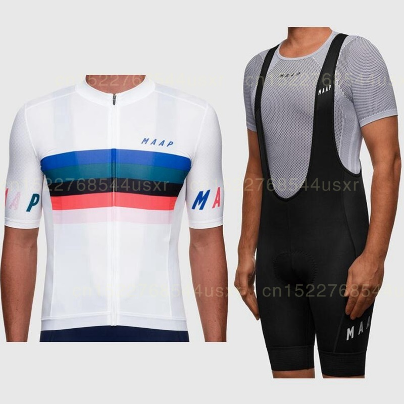 Cycling Jersey Bib Shorts Kit Bike Racing Road Riding Tri Sports New
