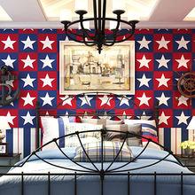 Водонепроницаемые детские обои 10 м с рисунком звезд для спальни