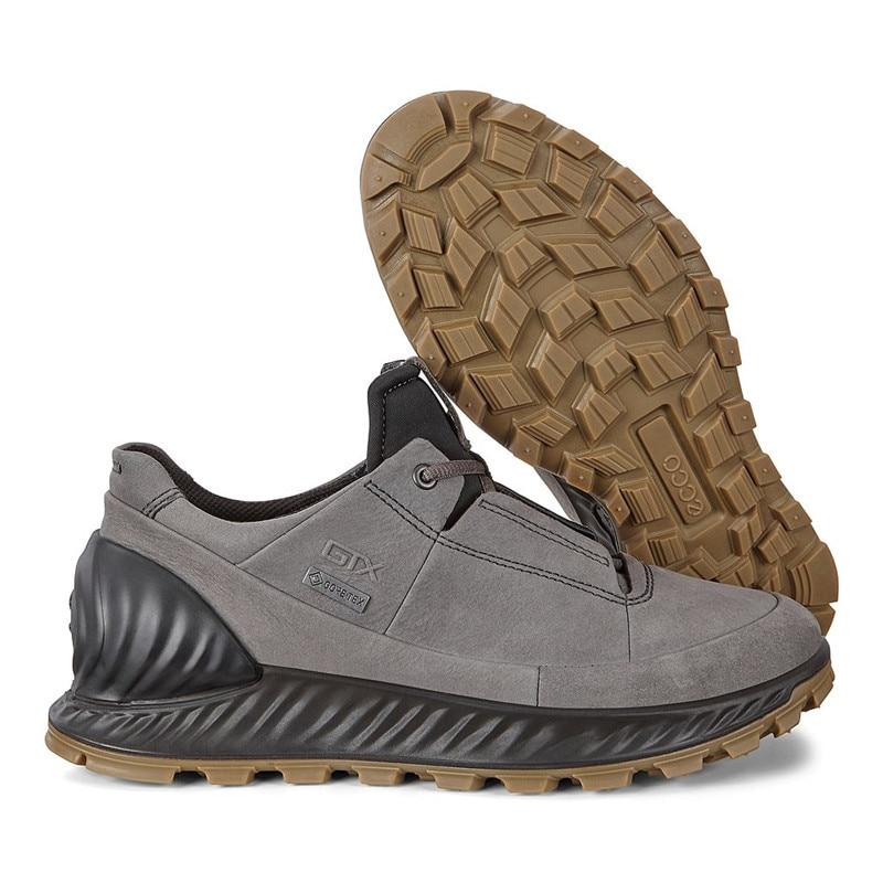 Ecco Men's Leather Shoes Low-cut Breathable Non-slip Comfortable Sports Outdoor Men's Shoes 832444 Men Casual Shoes