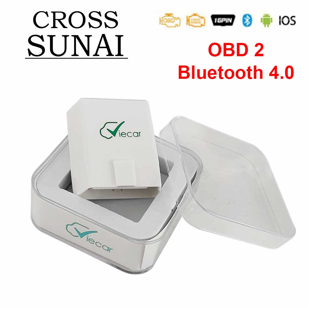 Viecar ULME 327 V1.5 PIC18F25K80 OBD2 Bluetooth 4,0 Scanner ODB2 Für Android/IOS OBD OBD 2 Auto Diagnose Auto werkzeug elm327 v1.5