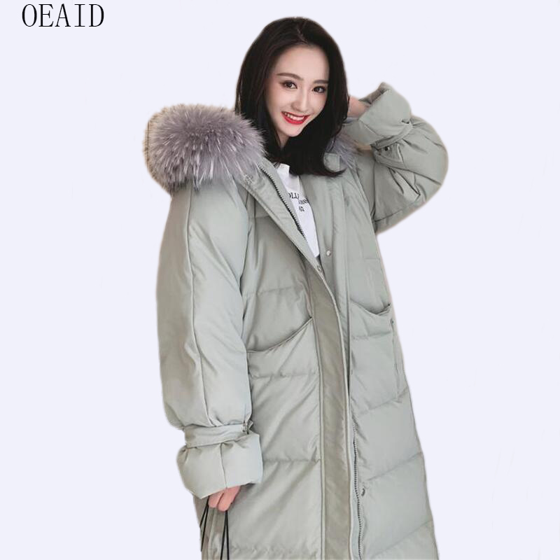 New Snow Wear Winter Women's   Down   Jacket Large Size 2019 Winter   Down   Jacket Women   Down     Coat   Thick Fur   Coat   Female Jackets