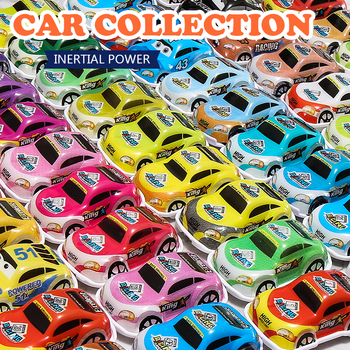 Mini Pull Back Cars Toy Plastic Car Model Funny Kids Vehicle Car Model Toy Children Wheels Set Cool Birthday Gift Toys for Boys pull back car 36 pack set of toy cars party favor mini toy cars set for boys kids child birthday play plastic vehicle set