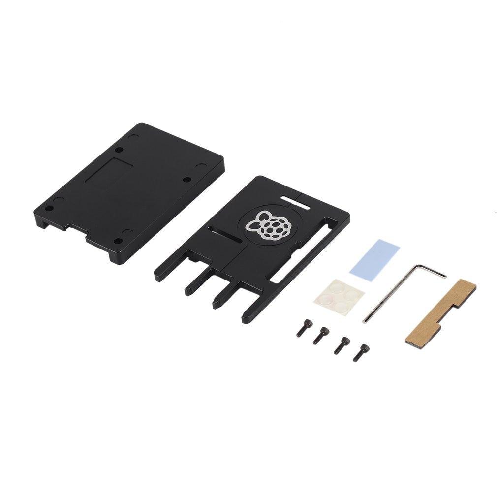Ultra-thin Aluminum Alloy CNC Case For Raspberry Pi 3 Mode B3 Metal Portable Box New Version For 3B
