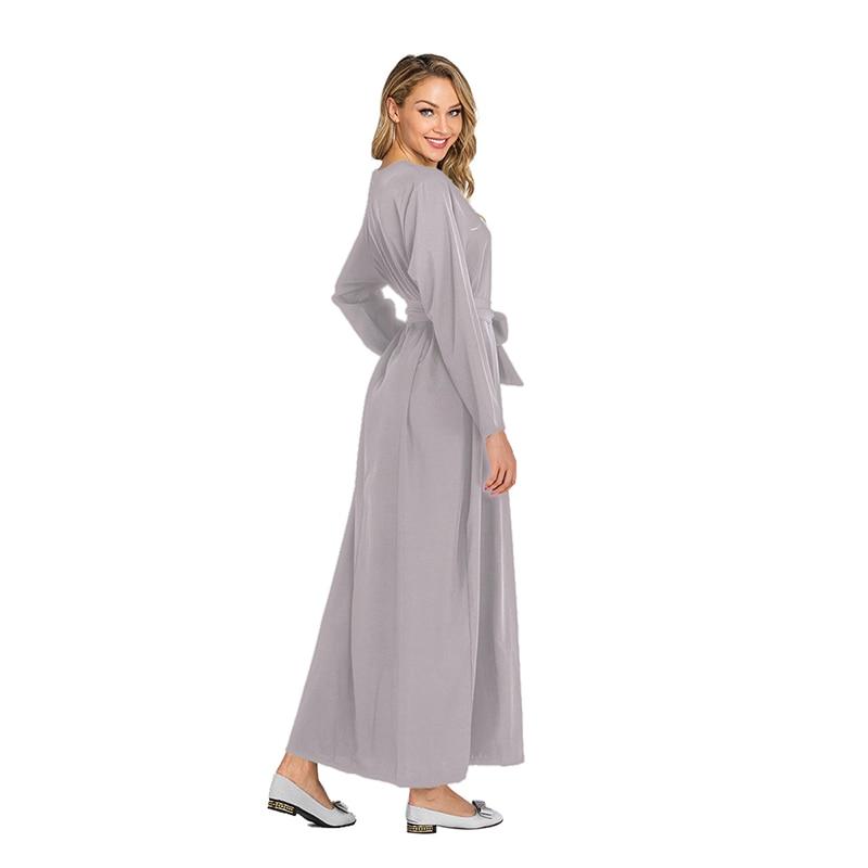 Islam Muslim Women Abaya Dubai Turkey Hijab Dress Moroccan Kaftan Abayas Jilbab Caftan Marocain Tesettur Elbise Islamic Clothing