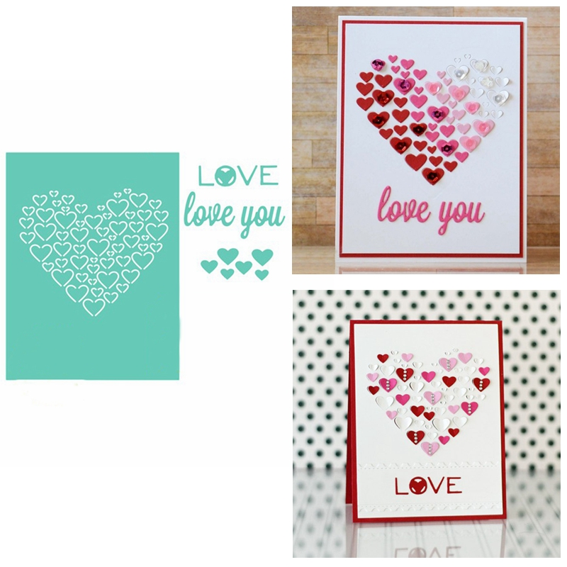Greeting Words thank Metal Cutting Dies Stencil Scrapbook Paper Cards Craft  X