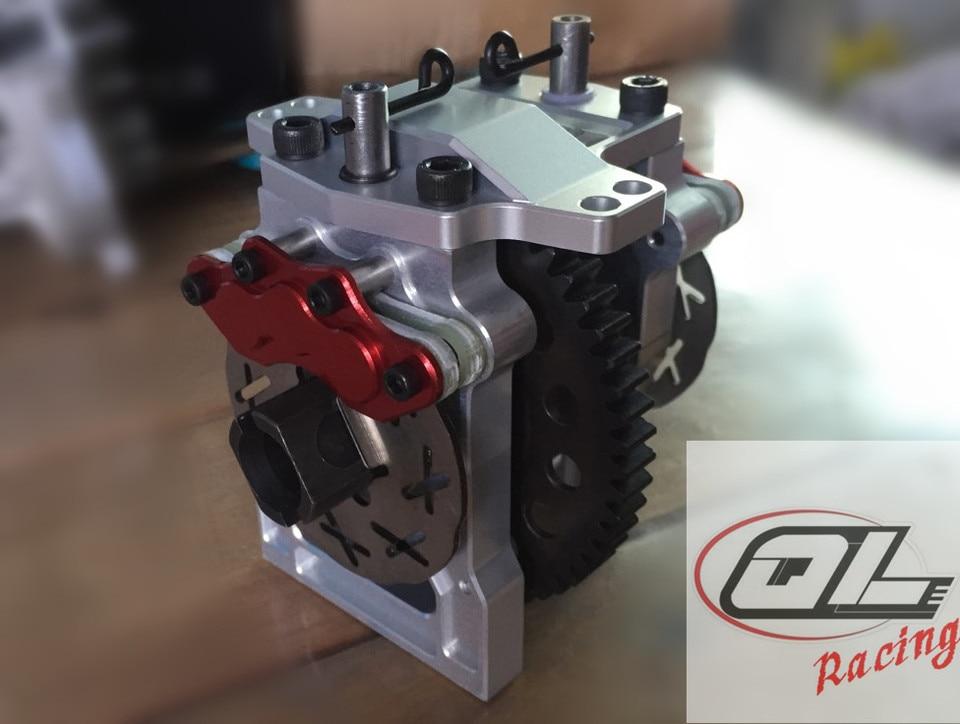 LT-SLT CNC Aluminum Center Brake Diff Brace Fits LOSI 5IVE T X2