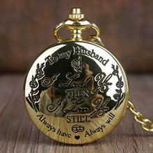 Świetny prezent dla mojego męża zegarki kieszonkowe kwarcowe moda Casual zegarek kieszonkowy na łańcuszku FOB najlepszy prezent dla ukochanej osoby mąż zegarek Fob tanie tanio GUBANG QUARTZ Akrylowe ROUND ANALOG Stacjonarne Szkło Unisex Antique CF1199 0 047m STAINLESS STEEL Nowy bez tagów
