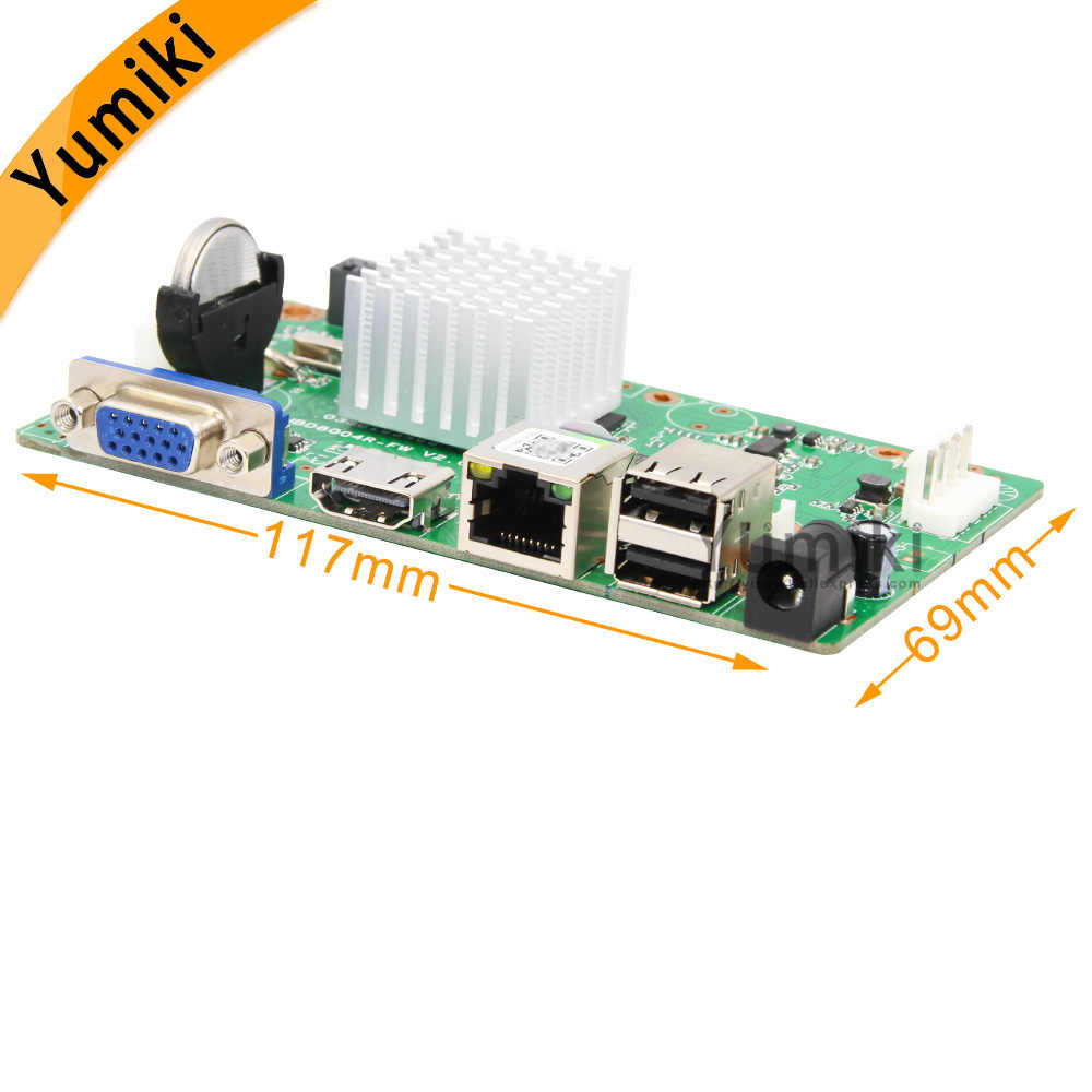 16CH * 5.0MP H.265/H.264 NVR Netwerk Vidoe Recorder DVR Board Intelligente Analys IP Camera met SATA Lijn ONVIF CMS XMEYE