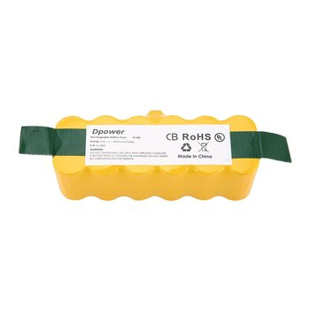 14.4V NI-MH 6000mAh Rechargeable Battery pack For iRobot Roomba 500 600 700 800  900 Series Vacuum Cleaner Yellow - sale item Household Appliances