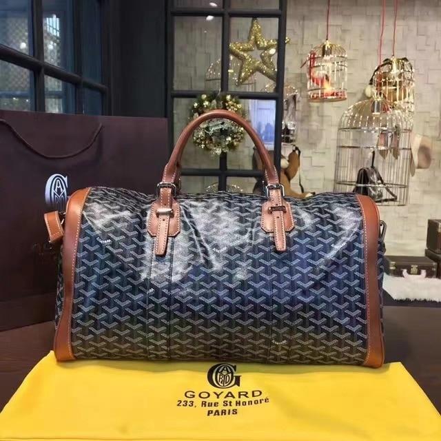 Fashion trend large capacity men and women the same portable diagonal bag, the same travel bag carry on luggage  gym bag 1