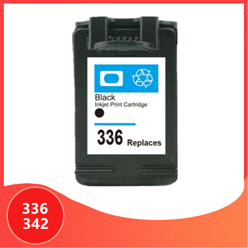 <font><b>Ink</b></font> Cartridge for <font><b>hp</b></font> 336 342 Replacement for hp336 for hp342 Deskjet 5440 PSC1510 Photosmart 1500 <font><b>C3100</b></font> C3180 D5420 6310 printer image
