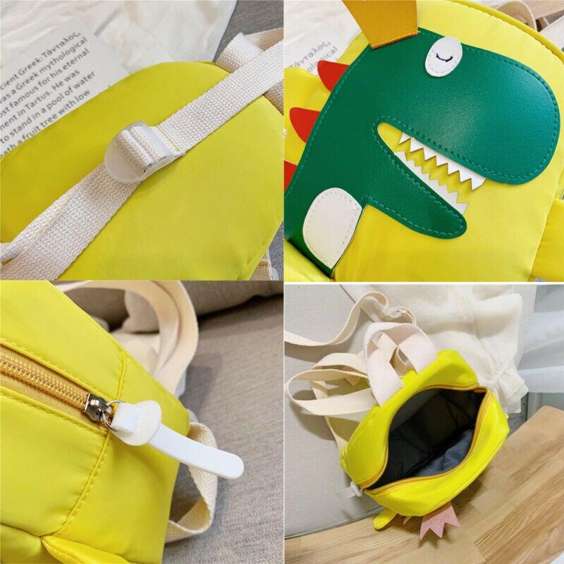Cute toddler kid kindergarten school bag 3D cartoon dinosaur mini backpack new baby boy girl school bag 3