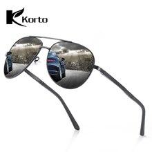 Korto Aviation Sunglasses Polarized Men 2019 Trend Sun Glasses For Driving Male Pilot Oculos Zonnebril