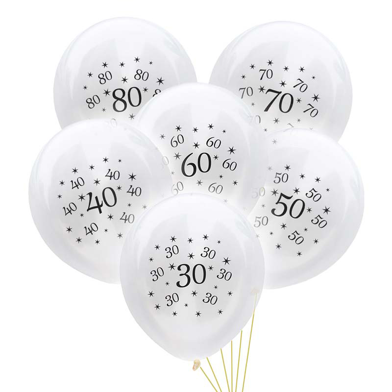 BLACK SILVER  AGES 18 21 30 40 50 60 65 70 80 90 PARTY BIRTHDAY BANNERS GOLD