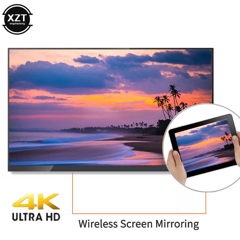 Chromecast Anycast 2.4G/5G 4K Miracast bezprzewodowe HDMI TV Stick Wifi AirPlay Dongle lustro odbiornik dla IOS smartfony z systemem Android