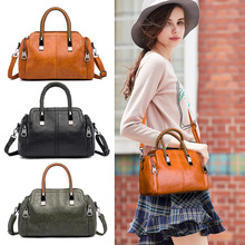 цены Handbag women summer new hand carry shoulder Messenger bag pillow bag  tote bags for women  Solid Casual Tote Fashion