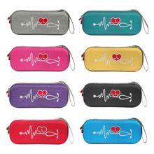 EVA Portable Travel Carrying Case Shell Organizer Bag for 3M Littmann Classic III Stethoscope Accessories Storage Box