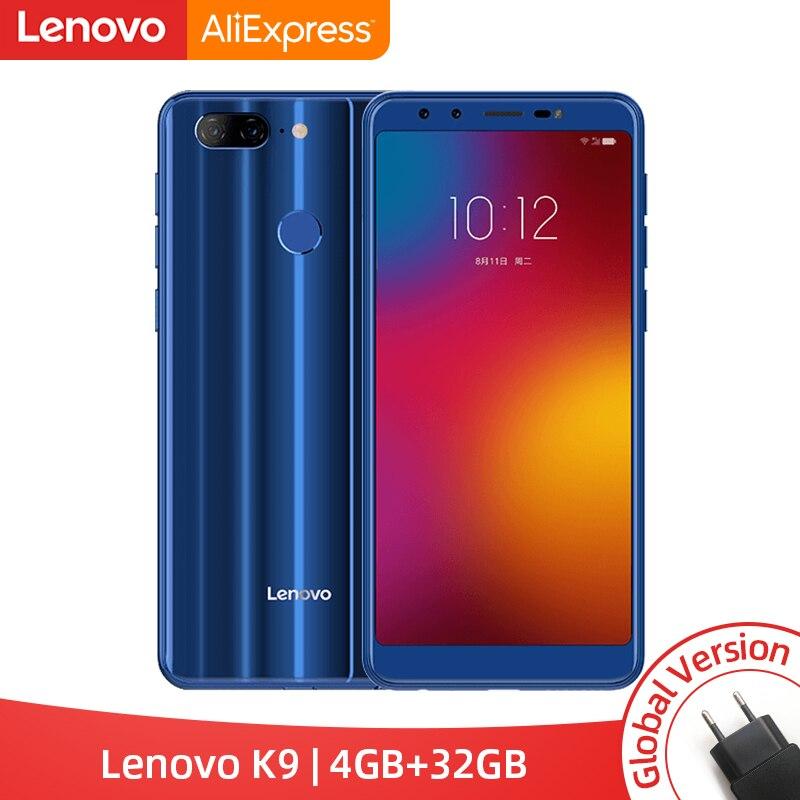 Versión Global Lenovo K9 4GB 32GB teléfono inteligente 13MP cuatro cámaras de 5,7 pulgadas 18:9 Android 8,1 Helio P22 Octa core 4G teléfono móvil 3000mAh En Stock versión Global Xiaomi Redmi 7A 7 2GB 32GB 5,45