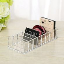 цена на New Makeup Organizador Clear Acrylic Brush Lipstick Holder Makeup Organizer Cosmetic Makeup Tools Storage Box Case