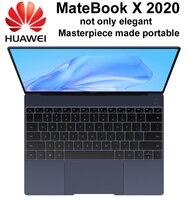 HUAWEI-portátil MateBook X de alta gama, 2020 i7-10510U, 4,9 GHz, 13 pulgadas, 3K, pantalla táctil, Teclado retroiluminado con huella dactilar