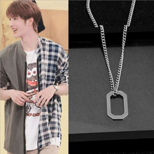 male mens Justin with long necklaces Men and women personali