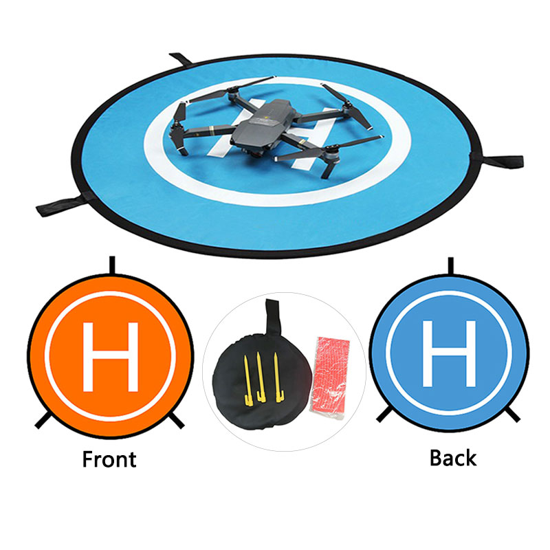 55 70 75 80CM Foldable Landing Pad For DJI Mavic Pro Mini 2 Air Spark Phantom 3 4 FIMI X8 Drone Parking Universal Accessories