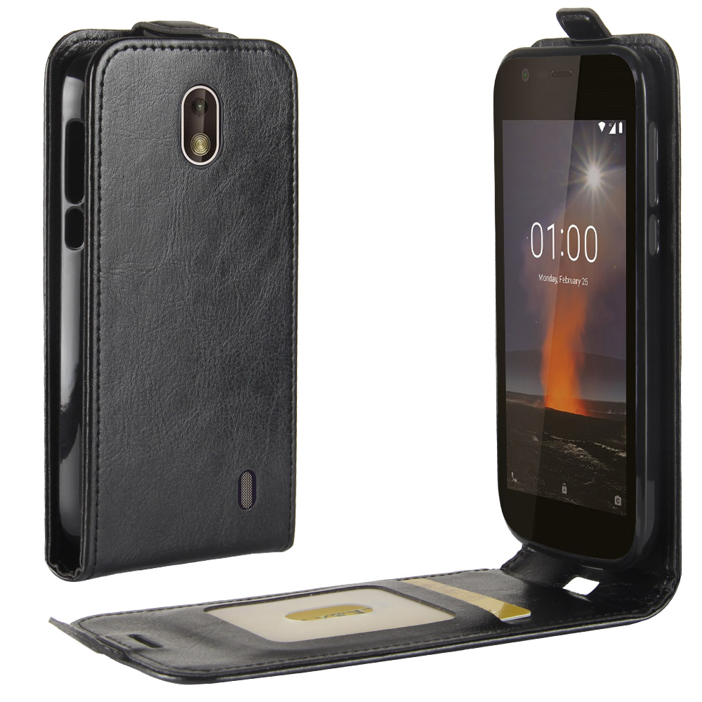 For <font><b>Nokia</b></font> 1 2018 Case For <font><b>Nokia</b></font> 1 Flip silicone PU Leather Wallet up and down Phone Case For <font><b>Nokia</b></font> 1 TA-<font><b>1047</b></font> TA-1060 Back Cover image