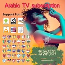 Arabic IPTV, M3U subscription tvbox, smart TV,tv box Arabic TV code,world tv subscription