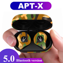 цены V5.0 Bluetooth Stereo Earphones TWS True Wireless Earbuds IPX5 Waterproof Sport Earphone with Power Bank for All Phone Handsfree