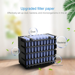 Image 4 - Air Cooler Fan Air Conditioner Humidifier Cooling Fan Mini USB Portable Desk Table Air Cooling Fan Easy Cool Purifies