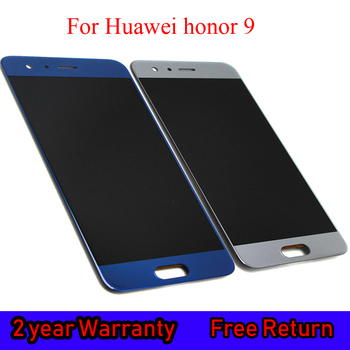 5.15 Original LCD Display For Huawei Honor 9 STF-L09 STF-AL10 Lcd Screen Replacement Display+Touch Panel Digitizer With Frame factory quality ips lcd display 7 85 for supra m847g internal lcd screen monitor panel 1024x768 replacement
