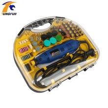 Electric Mini Drill  Rotary Tools Kit Set For Dremel 3000 4000 Hand Metalworking Drilling Machine Polishing Power Tool 110V/220V