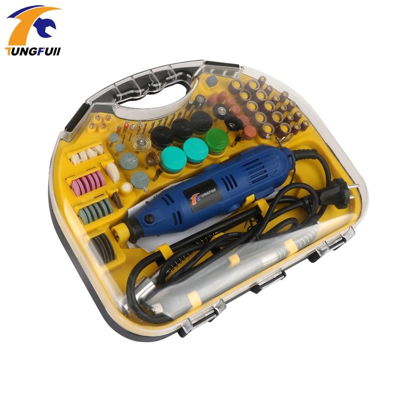 Elektrische Mini Drill Rotary Tools Kit Set Für Dremel 3000 4000 Hand Metallbearbeitung Bohren Maschine Polieren Power Tool 110V /220V