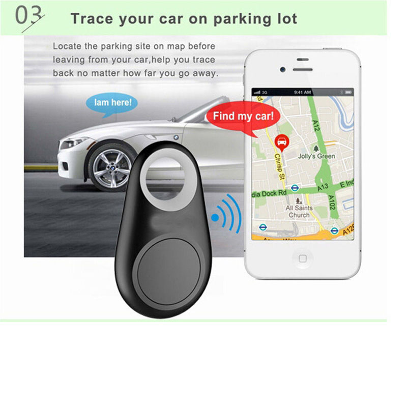 Trace Your Car On Packing Lot Waterproof Bluetooth Tracer For Pet Dog Cat Keys Wallet Bag Kids Trackers Finder Equipment