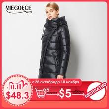 معطف سترة أنيق للنساء  MIEGOFCE, معطف دافئ، منفوش، حيوي، ذي جودة عالية، من مجموعة فصل الشتاء الجديدة