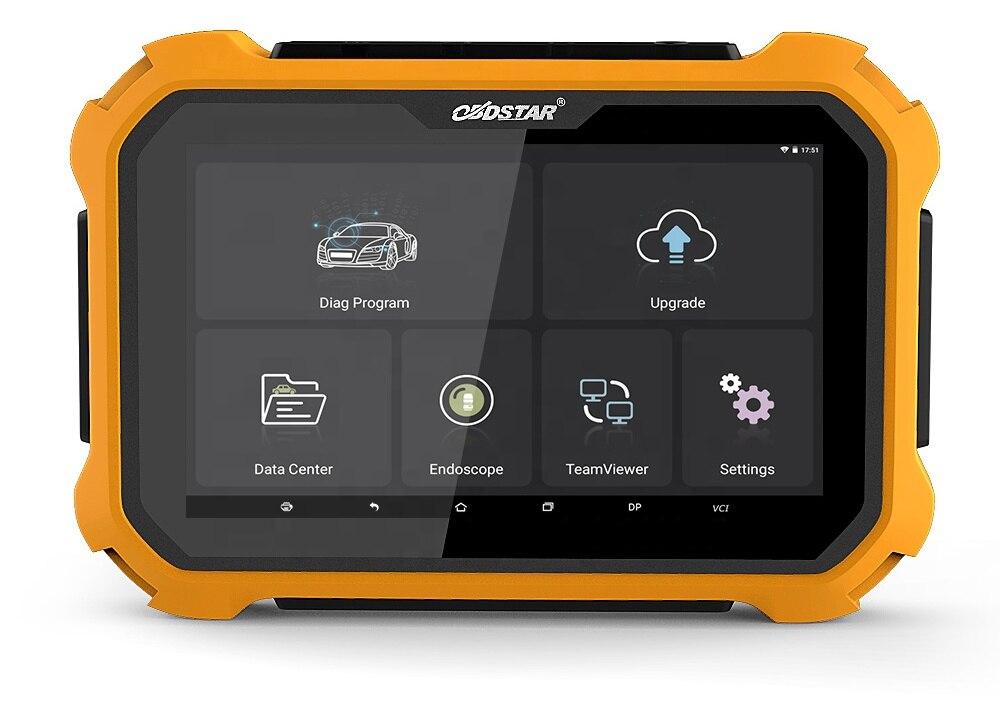 OBDSTAR X300 DP PLUS Auto Schlüssel Programmierer Tablet Wegfahrsperre Schlüssel Master DP OBD2 Automotive Scanner Tool Alle Schlüssel Verloren ECU