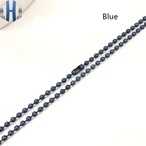Image 5 - 3.0*650mm Pure Titanium Bead Chain Metal Wave DIY Accessories Sweater Chain Does Not Rust Light Hypoallergenic EDC Bead Chain