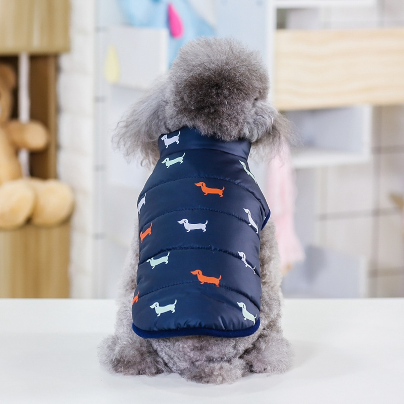 Waterproof Dog Jacket Made with Polyester Cotton and Fleece Material for Autumn and Winter 8