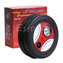 2021 New 1PC New Portable Mini Electric Air Compressor Pump Car Tire Inflator 12V 260PSI