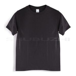 Футболка с V-образным вырезом, черная, 80 размеров, размеры S, M, L, XL, XXL, XXXL, sbz135