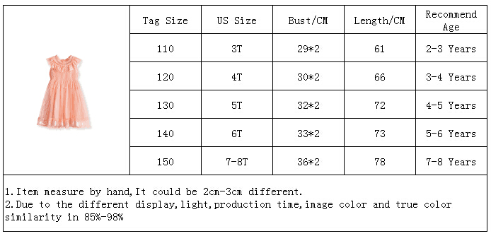 Hd86b3bbc0a8b48b99b3ef3017b8a09f2W Girls Dress 2019 New Summer Brand Girls Clothes Lace And Ball Design Baby Girls Dress Party Dress For 3-8 Years Infant Dresses