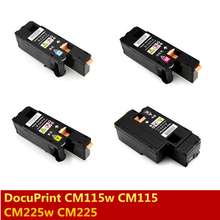 Hot sale in Asian 4 X Compatible for Fuji Xerox DocuPrint CM115w CM115 CM225w CM225 CP115w CP115 CP116w CP116 color toner