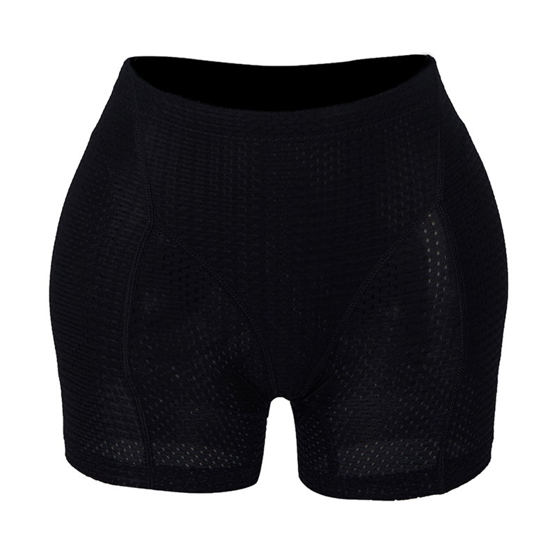 Image 5 - Burvogue Body Shaper Panties Women Breathable Underwear Butt Lifter Panties Enhancer Butt Pad Hip Pants Brief Control PantiesControl Panties   -
