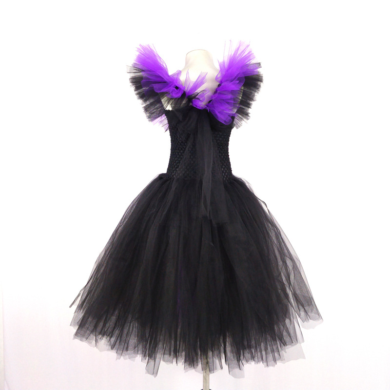 Export Supply Of Goods Big Boy Halloween Color Cosplay Formal Dress Girls Performance Tutu