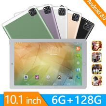 Tablet 10inch Phone-Call android Octa-Core Steel-Screen 6GB Wi-Fi Bluetooth 128-Gb 3G/4G