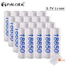 PALO 19-30 pcs 18650 30A Original rechargeable battery lot 3.7V 3200mAh  lithium li-ion liion li ion battery batteries original 3 7v 150mah 20c lithium ion battery